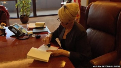 Jan Brewer Vetoes Anti-Gay Bill
